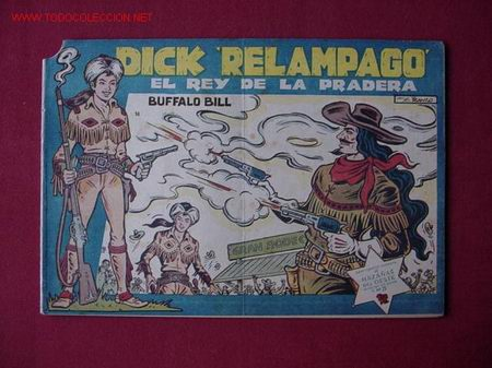 DICK RELAMPAGO (TORAY) ... Nº 14 (Tebeos y Comics - Toray - Dick Relampago)