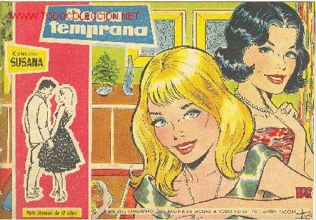 COL:ECCIÖN SUSANA - ROSA TEMPRANA - Nº 77 (Tebeos y Comics - Toray - Susana)