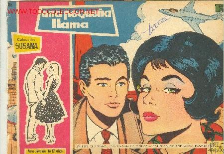 COLECCIÖN SUSANA - UNA PEQUEÑA LLAMA - Nº 86 (Tebeos y Comics - Toray - Susana)