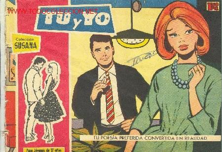 COLECCIÖN SUSANA - TU Y YO - Nº 102 (Tebeos y Comics - Toray - Susana)