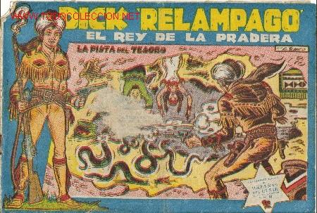 DICK RELAMPAGO EL REY DE LA PRADERA ( TORAY ) ORIGINAL 1960 LOTE (Tebeos y Comics - Toray - Dick Relampago)