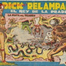 Tebeos: DICK RELAMPAGO EL REY DE LA PRADERA ( TORAY ) ORIGINAL 1960 LOTE. Lote 26924351
