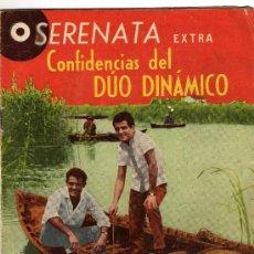 Tebeos: SERENATA EXTRA CONFIDENCIAS DEL DUO DINAMICO Nº 42 AÑO 1964. Lote 26503319