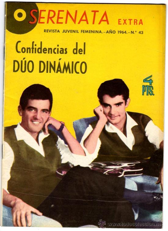 SERENATA EXTRA, CONFIDENCIAS DEL DUO DINAMICO Nº 43 AÑO 1964 (Tebeos y Comics - Toray - Otros)
