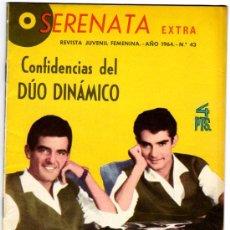Tebeos: SERENATA EXTRA, CONFIDENCIAS DEL DUO DINAMICO Nº 43 AÑO 1964. Lote 26803332