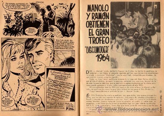 Tebeos: serenata extra, confidencias del duo dinamico nº 43 año 1964 - Foto 3 - 26803332
