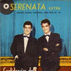 Tebeos: SERENATA EXTRA CONFIDENCIAS DEL DUO DINAMICO Nº 44, AÑO 1964. Lote 26957673