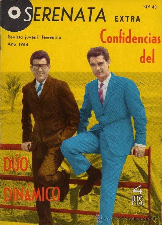 SERENATA EXTRA CONFIDENCIAS DEL DUO DINAMICO Nº 48 AÑO 1964 (Tebeos y Comics - Toray - Otros)