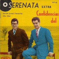 Tebeos: SERENATA EXTRA CONFIDENCIAS DEL DUO DINAMICO Nº 48 AÑO 1964. Lote 26353269