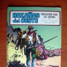 Tebeos: HAZAÑAS DEL OESTE, Nº 234 - EDICIONES TORAY 1970. Lote 9888235