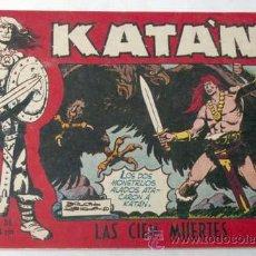 BDs: TEBEO KATAN Nº 210 LAS CIEN MUERTES EDICIONES TORAY 1958. Lote 9945961