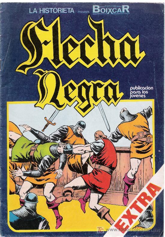 FLECHA NEGRA Nº 7 (Tebeos y Comics - Toray - Flecha Negra)