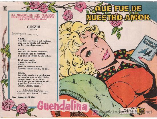GUENDALINA. Nº 91. SIN ABRIR (Tebeos y Comics - Toray - Guendalina)