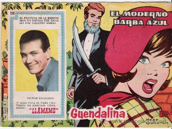 GUENDALINA. Nº 138 (Tebeos y Comics - Toray - Guendalina)
