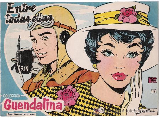GUENDALINA. Nº 23 (Tebeos y Comics - Toray - Guendalina)