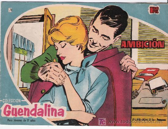 GUENDALINA. Nº 71 (Tebeos y Comics - Toray - Guendalina)