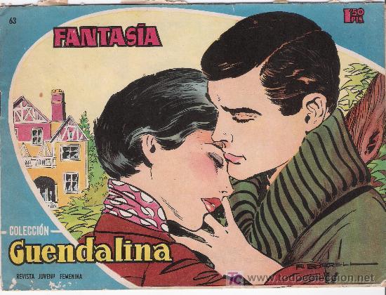 GUENDALINA. Nº 63 (Tebeos y Comics - Toray - Guendalina)