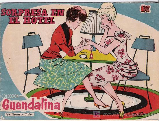 GUENDALINA. LOTE DE 6 EJEMPLARES :11, 31, 86, 90, 95, 96 (Tebeos y Comics - Toray - Guendalina)