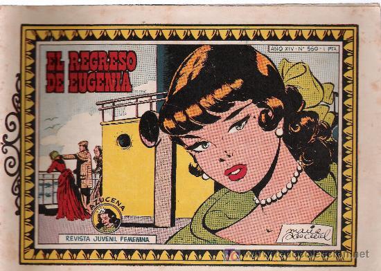 AZUCENA. Nº 550 (Tebeos y Comics - Toray - Azucena)