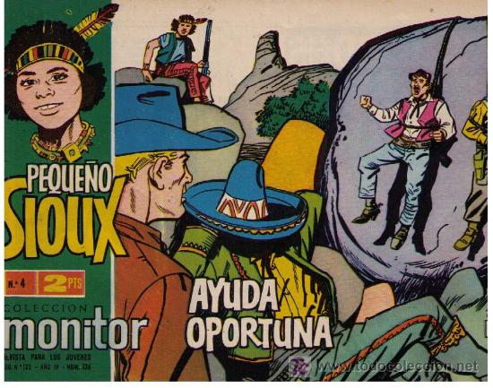 PEQUEÑO SIOUX. Nº 4 (Tebeos y Comics - Toray - Sioux)
