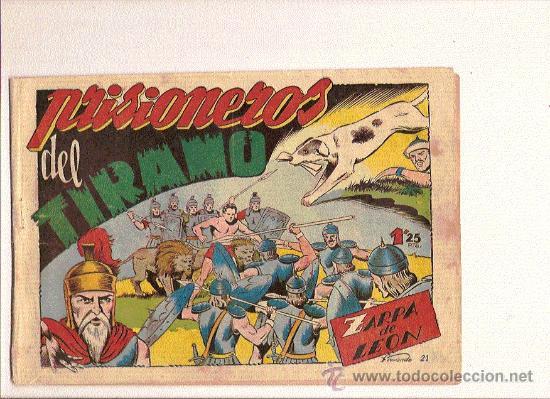 ZARPA DE LEON Nº21 DE TORAY (Tebeos y Comics - Toray - Zarpa de León)