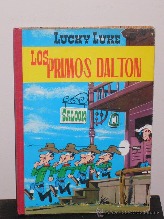 LUCKY LUKE - LOS PRIMOS DALTON - SEGUNDA EDICIÓN 1969 - EDICIONES TORAY (Tebeos y Comics - Toray - Otros)