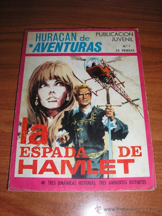 HURACAN DE AVENTURAS-Nº 1-TORAY (Tebeos y Comics - Toray - Otros)