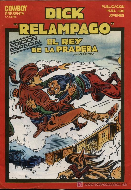 DICK RELAMPAGO. Nº 14 (Tebeos y Comics - Toray - Dick Relampago)