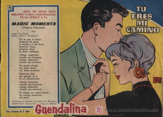 GUENDALINA. Nº 96 (Tebeos y Comics - Toray - Guendalina)