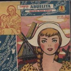 Tebeos: CUENTOS DE LA ABUELITA. Nº 162. Lote 18661204