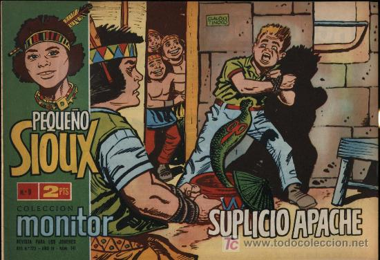 PEQUEÑO SIOUX. Nº 9 (Tebeos y Comics - Toray - Sioux)