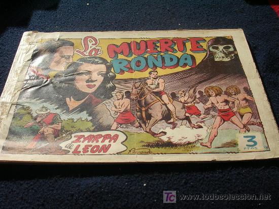 ZARPA DE LEON ORIGINAL TOMO 10 VER FOTOS CJ9 (Tebeos y Comics - Toray - Zarpa de León)