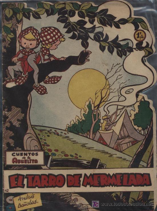 CUENTOS DE LA ABUELITA. TORAY, 1949. Nº 12 (Tebeos y Comics - Toray - Cuentos de la Abuelita)