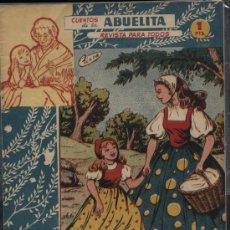 Tebeos: CUENTOS DE LA ABUELITA. Nº 188. Lote 18780905