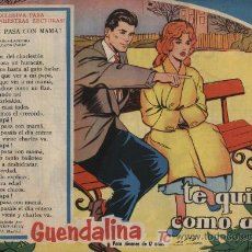 Tebeos: GUENDALINA. Nº 81. SIN ABRIR. ¡IMPECABLE!. Lote 26380290