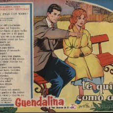 Tebeos: GUENDALINA. Nº 81. SIN ABRIR. ¡IMPECABLE!. Lote 26380291
