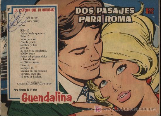 GUENDALINA. Nº 84 (Tebeos y Comics - Toray - Guendalina)
