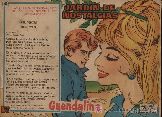 GUENDALINA. Nº 100 (Tebeos y Comics - Toray - Guendalina)