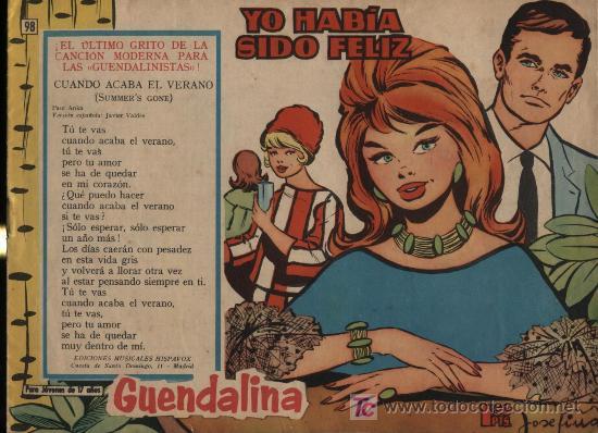 GUENDALINA. Nº 98 (Tebeos y Comics - Toray - Guendalina)