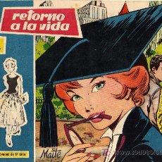 Tebeos: COLECCION ROSAS BLANCAS Nº 117 - RETORNO A LA VIDA - EDICIONES TORAY - DEP. LEGAL 1958 - ORIGINAL. Lote 11267426