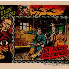 Tebeos: TRAS EL TELON DE ACERO Nº 5, DIBUJO DE DARNIS, EDI. TORAY, MUY DIFICIL. Lote 22752851