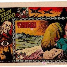 Tebeos: TRAS EL TELON DE ACERO Nº 4, DIBUJO DE DARNIS, EDI. TORAY, MUY DIFICIL, MUY NUEVO. Lote 22752837