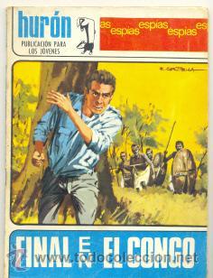HURON Nº 27 .. FINAL EN EL CONGO .. EDICIONES TORAY 1968 (Tebeos y Comics - Toray - Otros)