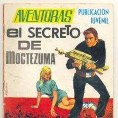 Tebeos: AVENTURAS Nº 43 .. EL SECRETO DE MOCTEZUMA .. EDICIONES TORAY 1969. Lote 20711678