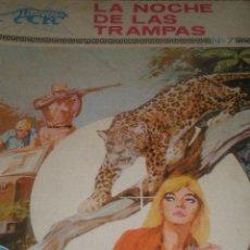 Tebeos: COLECCION LEOPARDO COMIC, ED. TORAY Nº 7 , LA NOCHE DE LAS TRAMPAS .-. Lote 17730045