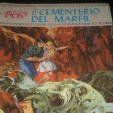 Tebeos: COLECCION LEOPARDO COMIC, ED. TORAY Nº 10 , EL CEMENTERIO DEL MARFIL. Lote 17730043