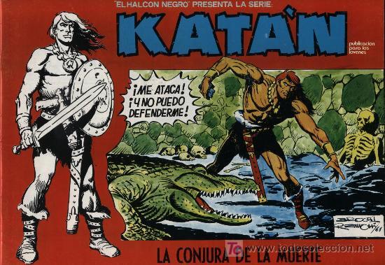 KATÁN Nº 8 (Tebeos y Comics - Toray - Katan)