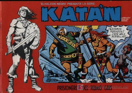 KATÁN Nº 5 (Tebeos y Comics - Toray - Katan)