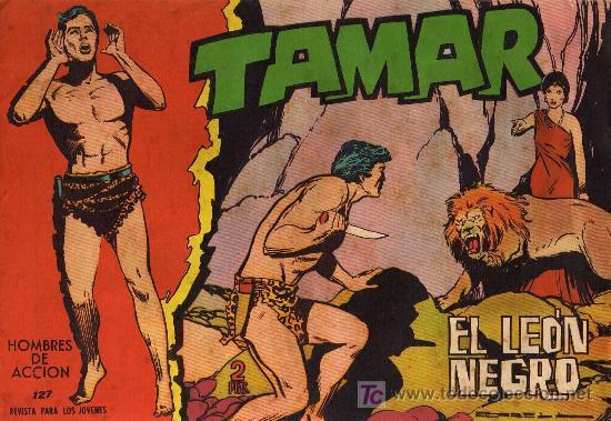 TAMAR - Nº 127 - BORRELL/ACEDO - EDICIONES TORAY 1961 - ORIGINAL, NO FACSIMIL (Tebeos y Comics - Toray - Tamar)