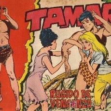 Tebeos: TAMAR - Nº 124 - BORRELL/ACEDO - EDICIONES TORAY 1961 - ORIGINAL, NO FACSIMIL. Lote 11313354